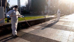 Δήμος Σπάρτης: Απολυμάνσεις δημοσίων δομών και χώρων