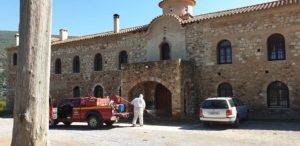 Συνεχίζονται οι απολυμάνσεις στο Δήμο Σπάρτης λόγο κορονοϊού