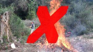 Ανακοίνωση Π.Υ Γυθείου – απαγορεύεται η καύση υπολειμμάτων καλλιέργειας