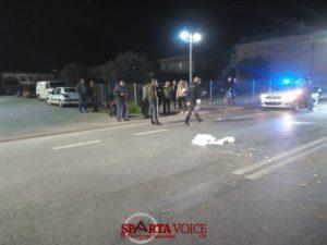 Τροχαίο ατύχημα στην Σπάρτη