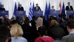 """Κ.Μητσοτάκης """"η Ελλάδα συνεχίζει να προστατεύει τα σύνορα της"""""""