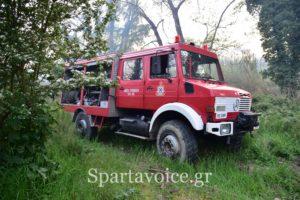 Ανακοίνωση απαγόρευσης κυκλοφορίας σε περίπτωση υψηλού κινδύνου πυρκαγιάς στην Λακωνία