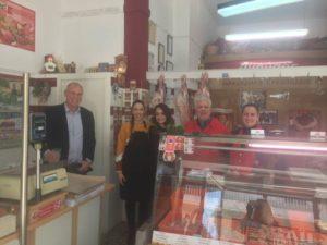 Τοπικές επιχειρήσεις επισκέφτηκε κλιμάκιο του Δήμου Σπάρτης