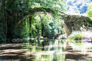 Το γεφύρι του Αϊ Σώστη στο χωριό Αγ. Ειρήνη Δ. Σπάρτης
