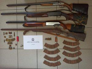Συνελήφθησαν δύο άτομα για όπλα στη Λακωνία