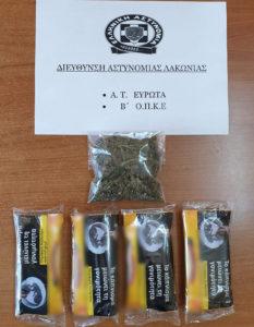 Σύλληψη 34χρονου στον Δ. Ευρώτα