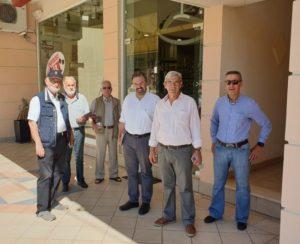 Περιοδεία στα καταστήματα του Γυθείου και της Σκάλας του Σ. Αραχωβίτη