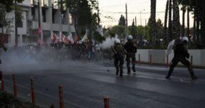 """Καταγγελία ΣΥΡΙΖΑ  """"ακραία καταστολή της Αστυνομίας"""""""