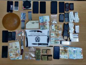 Συλλήψεις 8 ατόμων στην Λακωνία για σύσταση εγκληματικής οργάνωσης