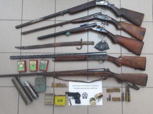 Συνελήφθη ένα άτομο για τα όπλα στη Λακωνία