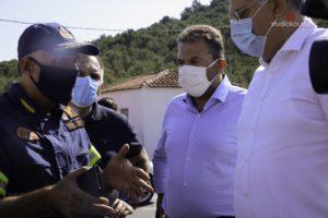 """Στ. Αραχωβίτης: """"Μεγάλη οικονομική και περιβαλλοντική ζημιά στη Μάνη από την πυρκαγιά"""