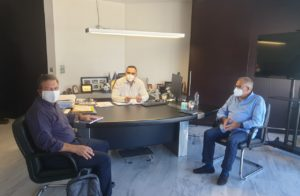 Ανάπτυξη και δράσεις για τη Λακωνία – Συνάντηση Αραχωβίτη με Βερούτη-Τζινιέρη