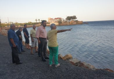 """Στ. Αραχωβίτης: """"Άμεση ανάγκη χρηματοδότησης ακτομηχανικης μελέτης για τη διάβρωση των ακτών της Λακωνίας"""""""