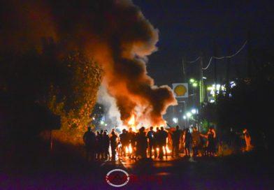 Ρομά έκλεισαν την εθνική Σπάρτης – Γυθείου