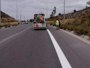 Έργα συντήρησης στο οδικό δίκτυο της Λακωνίας