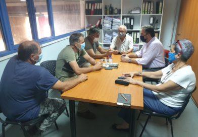Επίσκεψη Αραχωβίτη στον Α.Σ Αγ. Αποστόλων Βοιών Λακωνίας