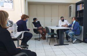 Επίσκεψης Στ. Αραχωβίτη στον ΟΑΕΔ Σπάρτης
