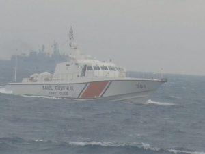 Παρέλαση τουρκικών πλοίων μεταξύ Αλεξανδρούπολης – Σαμοθράκης