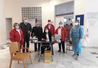Σε εξέταση rapid-test υποβλήθηκαν τα μέλη Ελληνικού Ερυθρού Σταυρού Σπάρτης