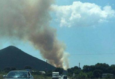 Πυρκαγιά στην Νότια Κυνουρία Αρκαδίας