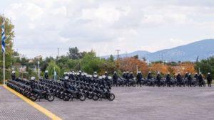 Εκατό (100) νέες μοτοσυκλέτες παρέλαβε η Ελληνική Αστυνομία