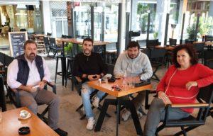 'Η εστίαση στην εντατική' – Συνάντηση Στ. Αραχωβίτη με Σύλλογο Ιδιοκτητών Επιχειρήσεων Μαζικής Εστίασης Σπάρτης