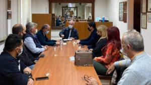 Συνάντηση Δαβάκη με το νέο ΔΣ του Εμπορικού Συλλόγου Σπάρτης