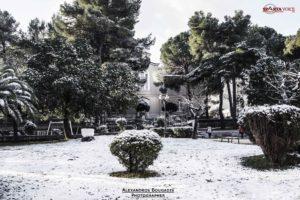Δελτίο καιρού για την Δευτέρα 18.1.2021. Χιονόπτωση προβλέπετε και στην Σπάρτη