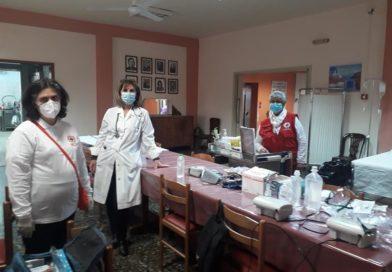 Εμβόλιασμος κατά του Covid -19 στο Γηροκομείο Σπάρτης