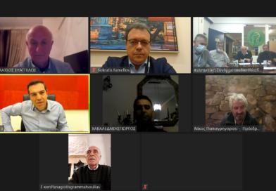 Τηλεδιάσκεψη Αλ. Τσίπρα με Προέδρους Κυνηγετικών Συλλόγων