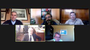 Τηλεδιάσκεψη Ταγαρά – Δαβάκη για τα Σχέδια Χωρικής και Οικιστικής Οργάνωσης Ανοικτών Πόλεων