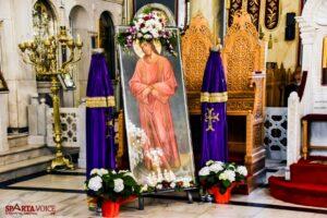 Μ. Τετάρτη: Το Άγιο Ευχέλαιο στον Ιερό Ναό Οσίου Νίκωνος Σπάρτης