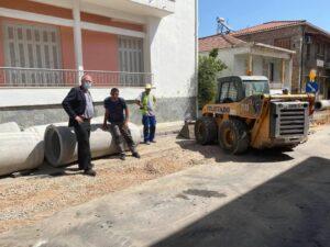 Επιθεώρηση έργων στην Σπάρτη από το Δήμαρχο Σπάρτης