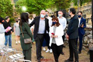 Επίσκεψη στο Μυστρά έκανε η Πρόεδρος της Ελληνικής Δημοκρατίας