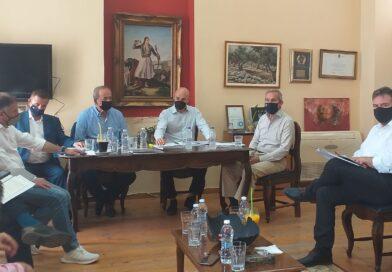 Συνάντησης Αραχωβίτη-Αμυρά για δασικούς χάρτες