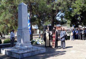 Εκδηλώσεις μνήμης για το Ολοκαύτωμα στους Αγίους Αναργύρους Δ. Σπάρτης