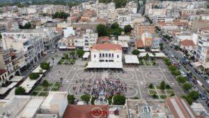 Διαδήλωση κατά του υποχρεωτικού  εμβολιασμού στην Σπάρτη