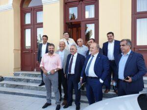 Συνάντησης Στ. Αραχωβίτη Επιμελητήριο Λακωνίας