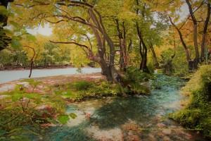 Σαν πίνακας ζωγραφιάς. Αχέροντας ποταμός.